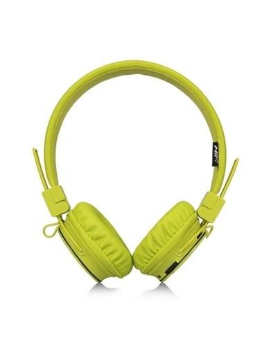 Bludfire Nia Kulaküstü Kulaklık Açık Yeşil Renkli
